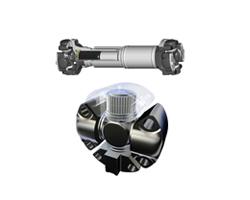 建筑机械设备用驱动轴