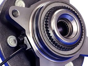 成形轮毂轮端系统